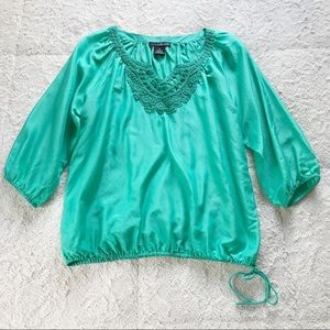 Willi Smith Silk Blend Blouse